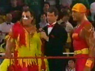 Hogan Returns to WWF Raw in 1993