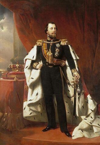 File:Portrait of King Willem III of the Netherlands, Nicolaas Pieneman (1856).jpg