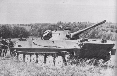 PT-76 in Albania