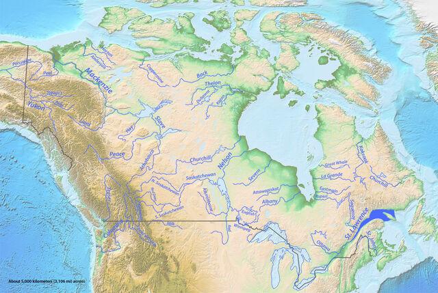 File:Longest Rivers of Canada.jpg