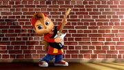 Alvin with Guitar