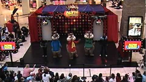 The Chipmunks - Get Munked Mall Tour 2008 - MN