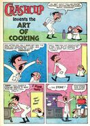 Clyde Crashcup Dell Comic 1 - Invents the Art of Cooking