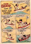 Clyde Crashcup Dell Comic 3 - Invents Deep Sea Diving