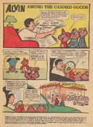 Alvin Dell Comic 3 - Among The Canned Goods