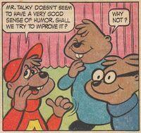 Alvin's Interview Scene Illustration