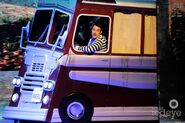 Dave in the tour bus LIVE