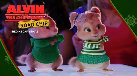"Alvin and the Chipmunks The Road Chip ""Wreck the Halls"" Lyric Video HD 20th Century FOX"