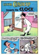 Clyde Crashcup Dell Comic 1 - Invents the Clock