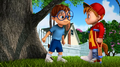 Alvin and Simon in I Will Survive.png