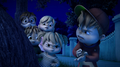 The Chipmunks, Brittany and Eleanor in Going Green.png