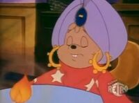 Alvin in Who Ghost There