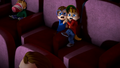 The Chipmunks terrified in Monster Madness.png