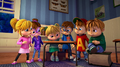 Chipmunks and Chipettes in room.png