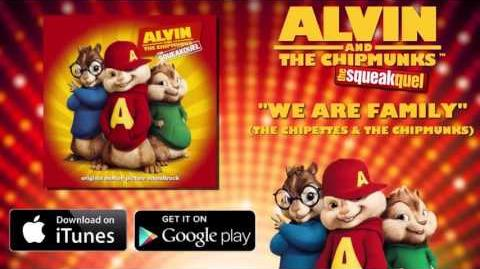 We Are Family - The Chipmunks - Squeakquel Original Motion Picture Soundtrack