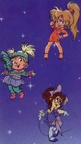 Chipettes on inside cover of When You Wish Upon a Chipmunk