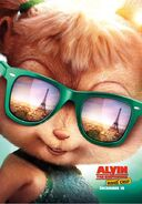 Alvin and The Chipmunks The Road Chip Character Poster 06