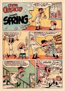 Clyde Crashcup Dell Comic 3 - Invents Spring