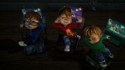 The Chipmunks with their Computers