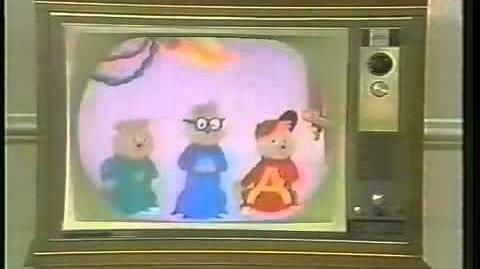 """The Chipmunks - NBC """"Let's All Be There"""""""