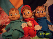The Chipmunks stuffed figure