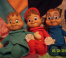 Alvin and the Chipmunks (Stuffed Figures)