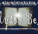 The mis-adventures of Alyson Bell Wiki