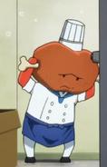 Meatman freaking out