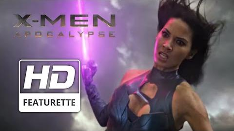 "X-Men Apocalypse ""Psylocke"" Featurette"