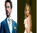 Kiss between Tony Stark and Christine Everhart