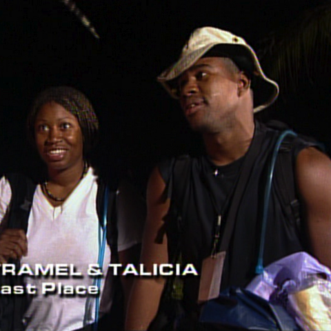 Tramel & Talicia were eliminated from the race in 11th place.
