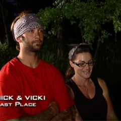 Nick & Vicki were eliminated from the race in 4th Place having fallen too far behind.