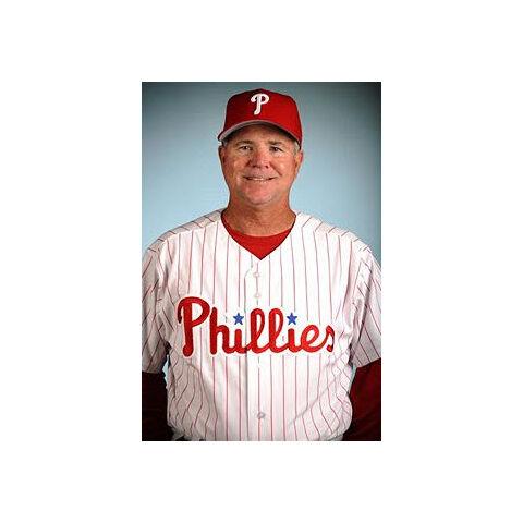 Steve Smith as the Phillies coach.