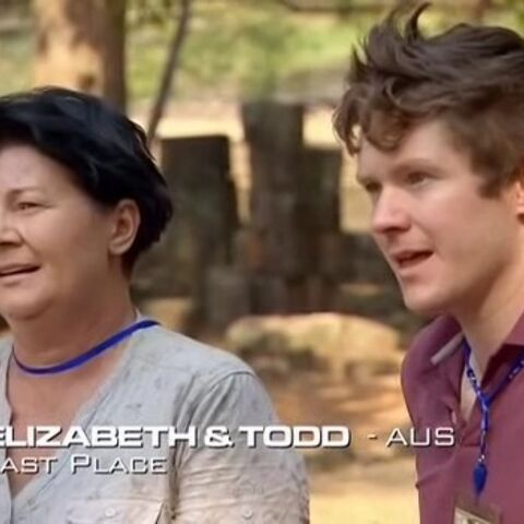 Elizabeth & Todd were eliminated from the race in 9th place.