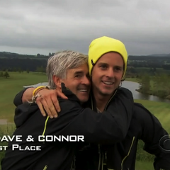 Dave & Connor have won the third leg.