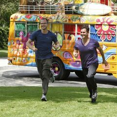 Josh &amp; Brent running to the <a href=