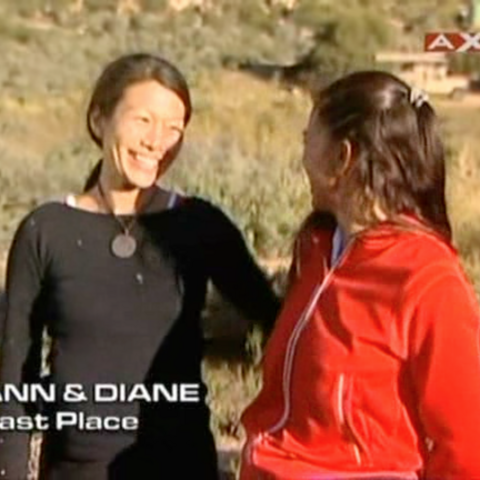 Ann & Diane were eliminated from the race in 4th place.