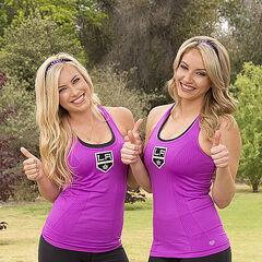 Ally &amp; Ashley alternate promotional photo for <i>The Amazing Race</i>.