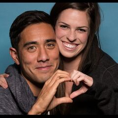 An alternate promotional photo of Zach &amp; Rachel for the <i>The Amazing Race</i>.