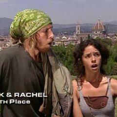 TK &amp; Rachel finish 4th on <a href=