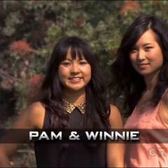 Pam & Winnie's Opening pose.