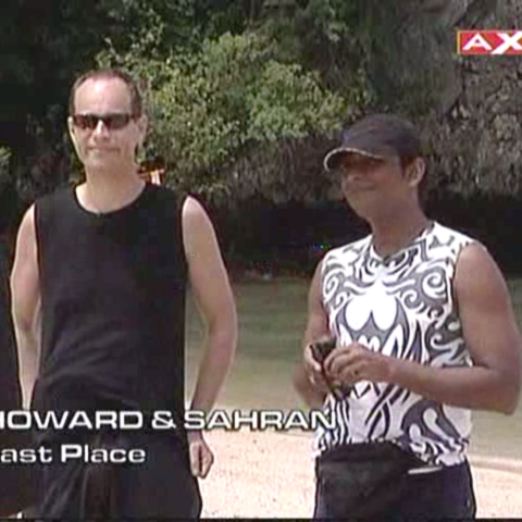 Howard & Sahran were eliminated from the race in 6th place.
