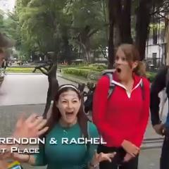 Brendon & Rachel has won their first leg in their career.