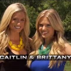 Caitlin & Brittany's opening pose.