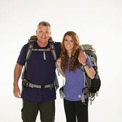 Steve &amp; Allie's alternate promotional photo for <i>The Amazing Race</i>.