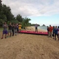 Finish Line: Secret Island, Hakipu'u Valley, Oahu, Hawaii