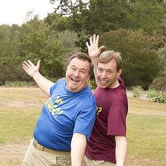 Rowan &amp; Shane's alternate promotional photo for <i>The Amazing Race</i>.