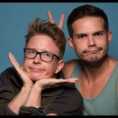 An alternate promotional photo of Tyler &amp; Korey for <i>The Amazing Race</i>.