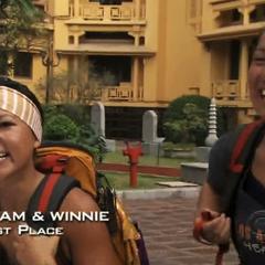 Pam &amp; Winnie have won the <a href=