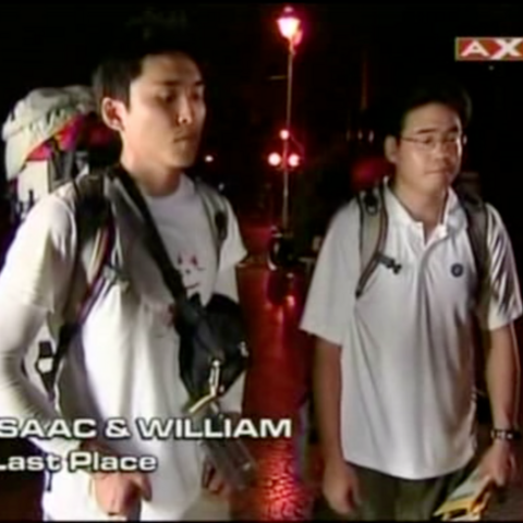 Isaac & William were eliminated from the race in 9th Place.